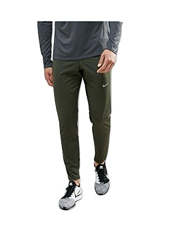 Nike Men's Dri-Fit OCT65 Knit Training Pants Forrest Green/Reflective 905062-355 (Small)