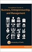 Book Foundation Course Business, Entrepreneurship and Management