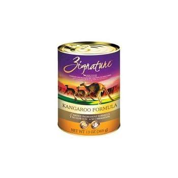 Amazon Com Zignature Kangaroo Canned Dog Food Formula 12