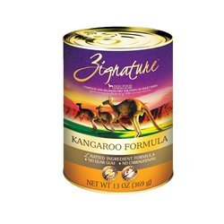 Zignature Kangaroo Canned Dog Food Formula 12/13oz