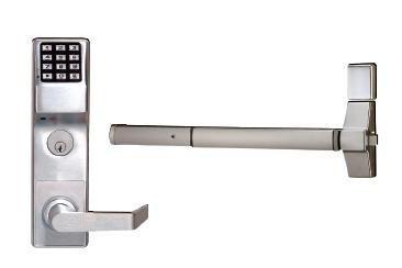 Alarm Lock Trilogy Exit Trim - Satin Chrome Finish by Alarm Lock