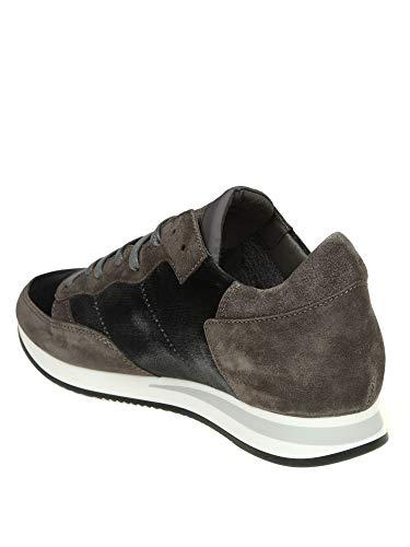 Trluev09 Model Marrone Uomo Philippe Sneakers Camoscio ndOWntc
