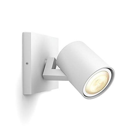 Philips Hue White ambiance Runner - Foco LED blanco, Iluminación inteligente, compatible con Amazon