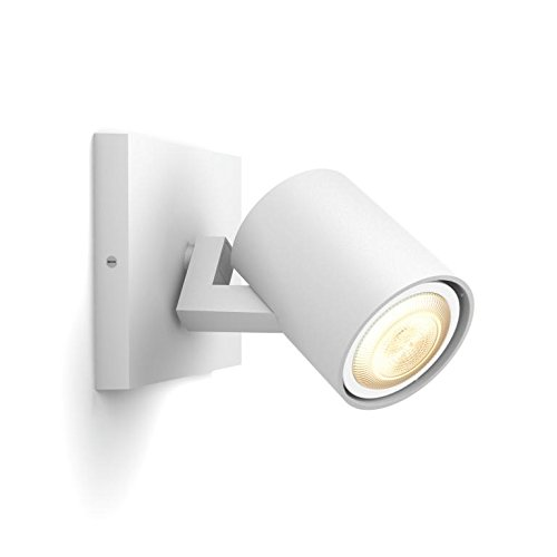 4 opinioni per Philips Hue White Ambiance Faretto Singolo LED Spot Runner con Dimmer Switch,