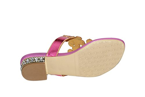 Damen Meijili Toes Damen Toes Peep Rose Damen Toes Meijili Rose Meijili Peep Peep TCWwq1EO