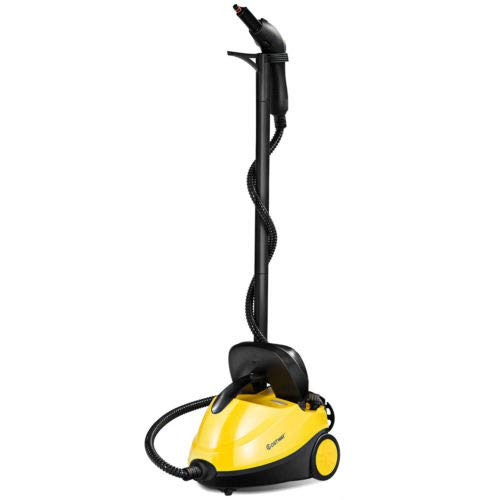 totoshop Heavy Duty Multi-Purpose Steam Cleaner 2000W Dual Tank System Quick Heat 1 min (Inch 118 Glass)