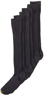 Gold Toe Men's Windsor Wool Over the Calf Dress Sock, 3-Pack