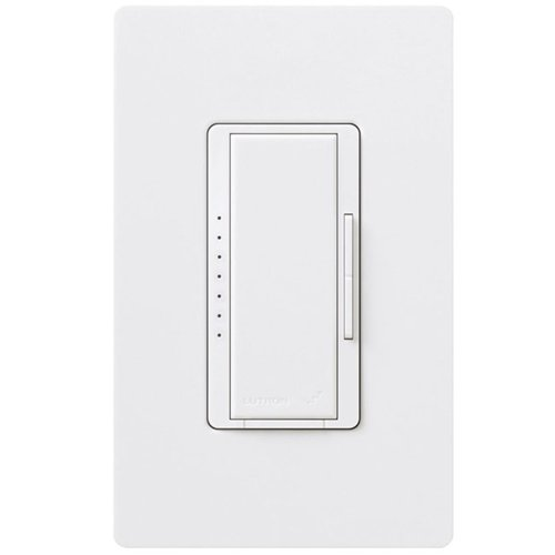 Lutron RRD-6CL-WH Radio RA2 600 Watts Incandescent 150 Watts CFL or LED Single Pole Multi Location Dimmer in White
