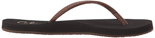 cobian Women's Nias Bounce Flip Flop Chocolate Wc4eCU