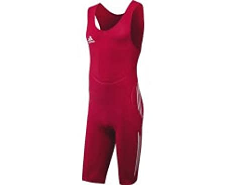 adidas Men's Classic Wrestling suit Red XL