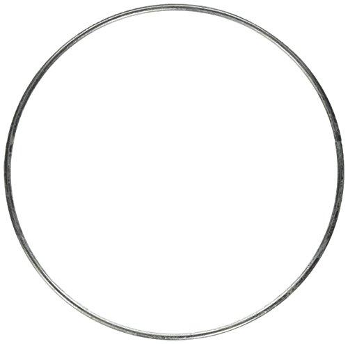 Realeather Crafts Zinc Metal Rings 7-Inch 3//pkg