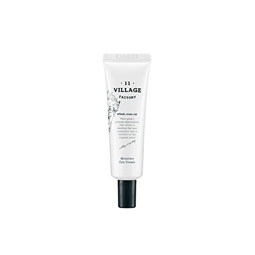 [VILLAGE 11 FACTORY] Moisture Eye Cream Extra moisturizing Fun with Skin Care Fast Absorbtion Pore Care Perfect for sensitive skin