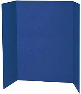 green tri fold display board