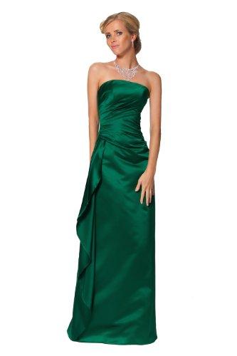 de tirantes cl¨¢sico medianoche Vestido la y colores verdes Hunter azules sin en Verde UPUqEwxz