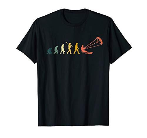 Funny Kitesurf Shirt - Kite Surfing Evolution Kite Boarding