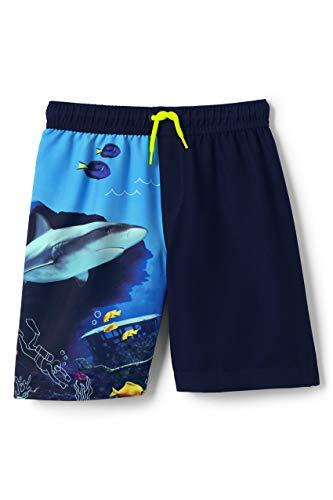 Boys Colorblock Swim Trunks - 1