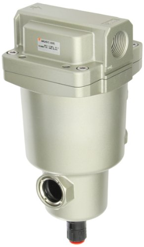 SMC AMG450C-N06D Water Separator, N.O. Auto Drain, 2,200 L/min, 3/4'' NPT by SMC Corporation