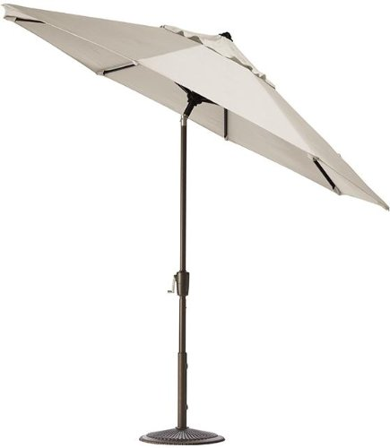 9' Auto tilt Outdoor Market Umbrella, BRONZE, CANVAS - Market Macy's