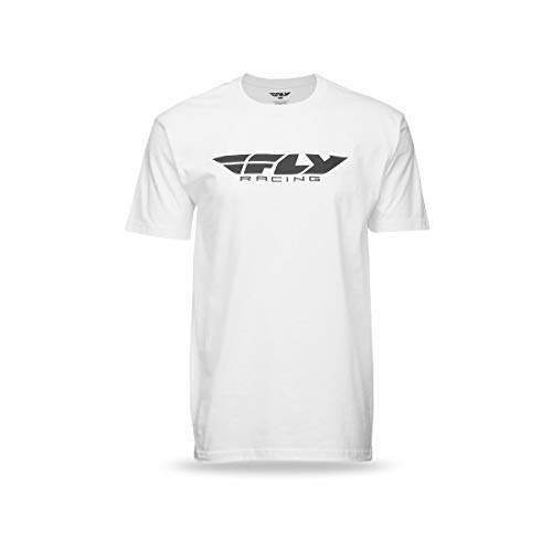 Fly Racing Corporate T-Shirt (X-Large) (White)