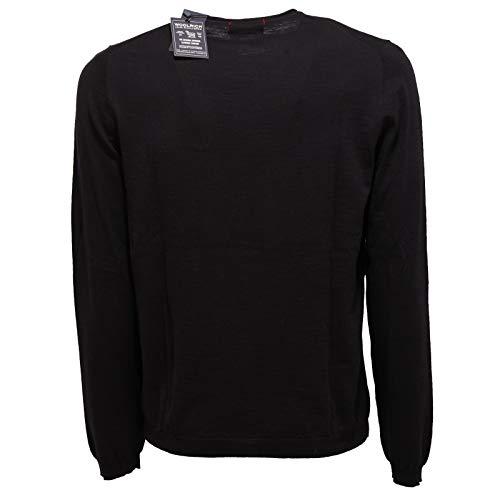 Cotton Man 2711x Woolrich Uomo Maglione Nero Black Sweater AIxvqw
