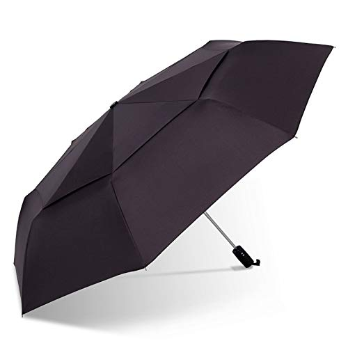 Bingo Point 125cm Big Automatic Quality Double Layer Umbrella Rain Women 3Fold Windproof Large Outdoor Car Umbrella Men Woman doublelayerumbrella doublelayerinvertedumbrella