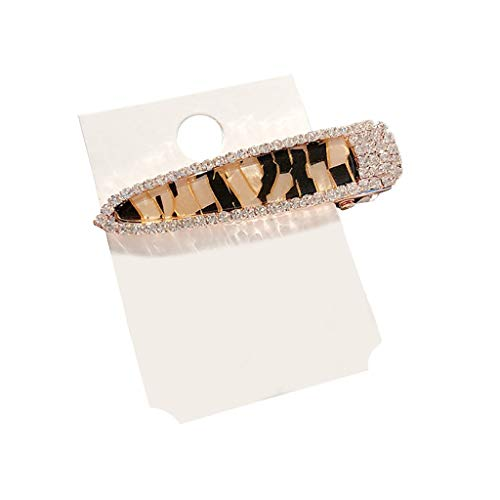 - Women Pearl Diamond Hair Clip Bobby Pin Hairband Hairpin Barrette Comb Accessory