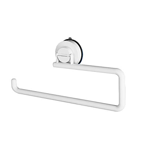 Suction Hooks,Wall Mounted kitchen Paper Holder Super Suction Cup Kitchen Towel Suction Hanging Toilet Paper Holder Without Nail(For Kitchen Toilet paper frame) (Kitchen paper holder)