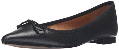 Silk Heels Shoes (Corso Como Women's Recital Ballet Flat, Black Silk Nappa, 7.5 M)