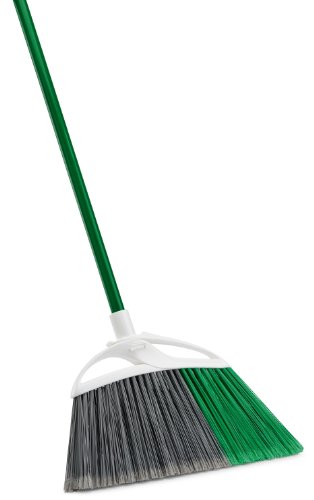 Libman 211 Extra Large Precision Angle Broom with Recycled Broom Fibers ()