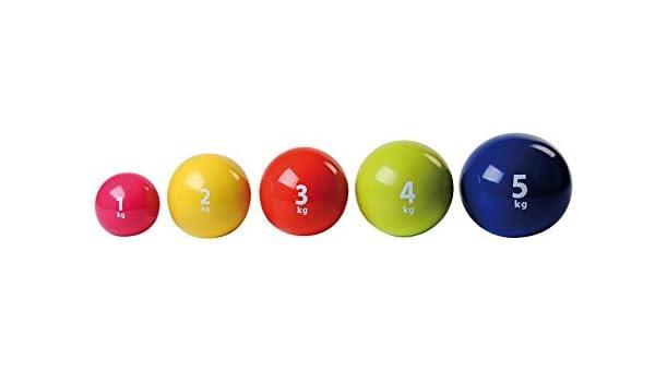 Holtex balón Medicinal 5 kg: Amazon.es: Deportes y aire libre