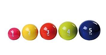 Holtex balón Medicinal 4 kg: Amazon.es: Deportes y aire libre