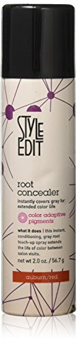 Root Concealer (Auburn/Red) 2 oz by Style Edit  (2 Pack)