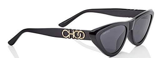 Jimmy Choo Women's Sparks/G/S Black/Grey/Blue One ()