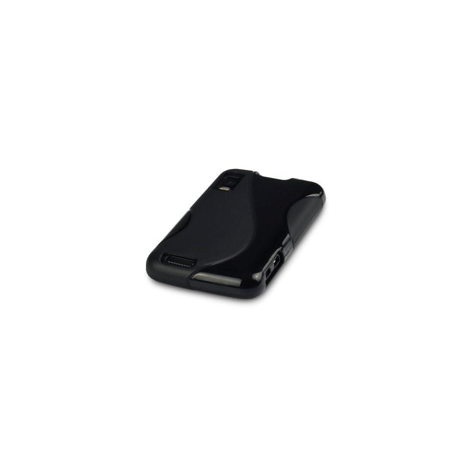 MOTOROLA ATRIX 4G GEL CASE   BLACK