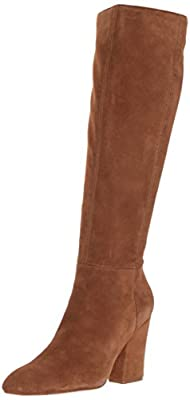 Nine West Women's Shearling Suede Knee High Boot