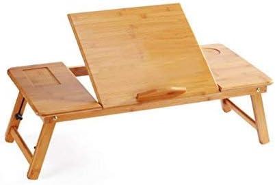 EVST portátil de bambú plegable portátil escritorio portátil ...