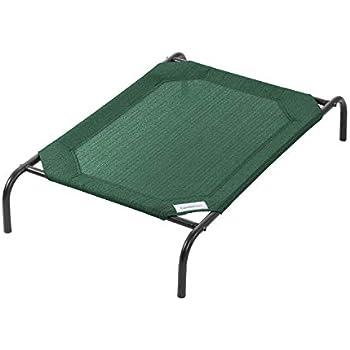 Coolaroo The Original Elevated Pet Bed, Medium, Brunswick Green