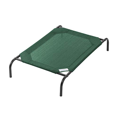 Coolaroo The Original Elevated Pet Bed, Medium, Brunswick Green