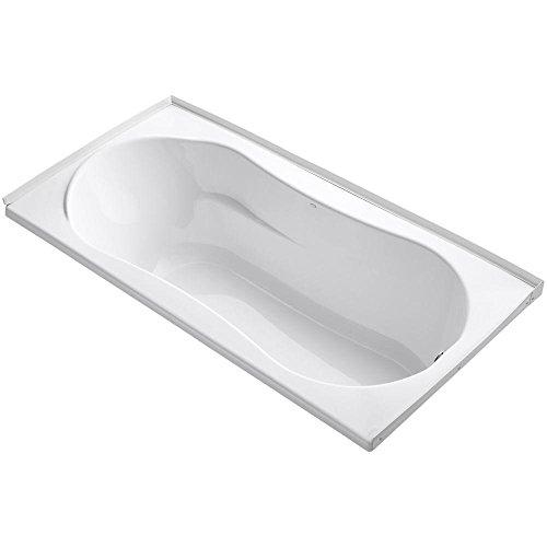 (KOHLER K-1159-R-0 7236 Bath, White)