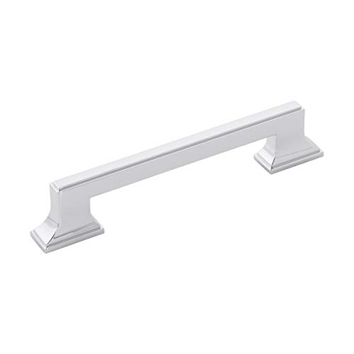 - Belwith-Keeler B077462-CH Brownstone Collection Pull 5-1/16 Inch (128mm) Center, Chrome