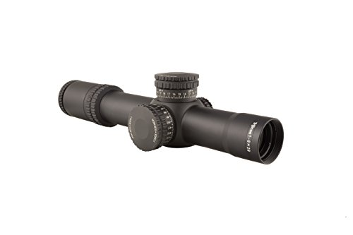 Trijicon AccuPower 1-8x28 Riflescope Red LED MOA Segmented-Circle Crosshair and 34mm Tube