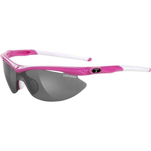 (Tifosi Slip Interchangeable Lens Sunglasses - Hot Pink)