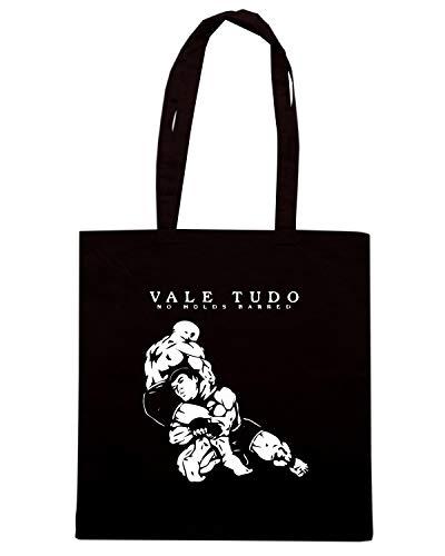 NO TAM0212 VALE Speed HOLDS TUDO BARRED Borsa Shopper Nera Shirt IIR70T