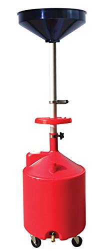 ATD Tools 5188 Plastic Waste Oil Drain with Casters - 18 Gallon ()