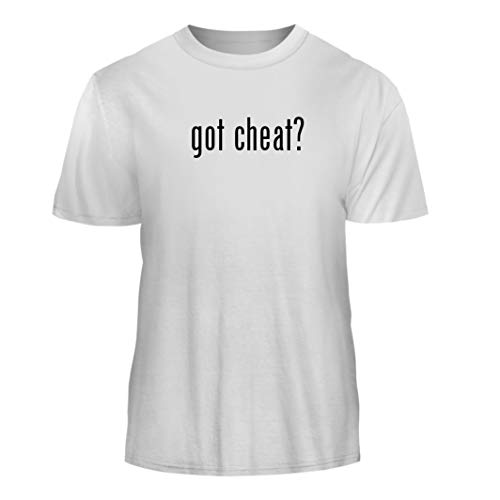 Tracy Gifts got Cheat? - Nice Men's Short Sleeve T-Shirt, White, X-Large