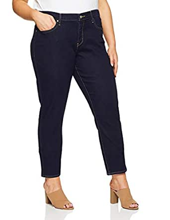 Levi's Women's 311 Plus Size Shaping Skinny, Darkest Sky, 18 M