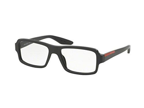 Prada Sport Rx Eyeglasses Frames Vps 01G Ub4-1o1 53x16 Matte Grey Gradient Italy by Prada Linea Rossa