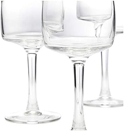 Luminarc 7276010 - Juego de 6 Copas de Vino (24 cl, Transparentes)