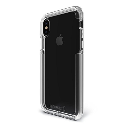 BodyGuardz Ace Pro Cell Phone Case for Apple iPhone X - Clear/Clear