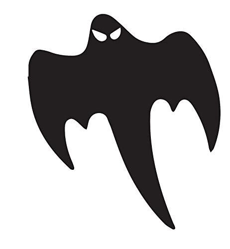 ANGDEST Halloween Koenigsegg Ghost (Black) (Set of 2) Premium Waterproof Vinyl Decal Stickers for Laptop Phone Accessory Helmet Car Window Bumper Mug Tuber Cup Door Wall Decoration